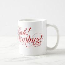 Bah! Humbug! typography mug
