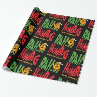Bah humbug!!!!! wrapping paper