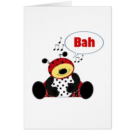 Bah (humming bug) card