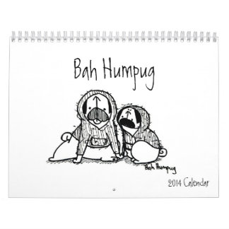 Bah Humpug 2014 Calendar