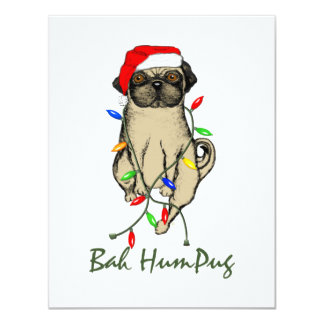 Bah HumPug Card