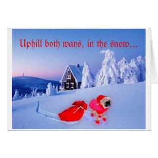 BAH HUMPUG Holiday Card