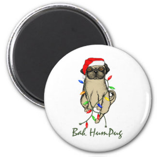 Bah HumPug 2 Inch Round Magnet