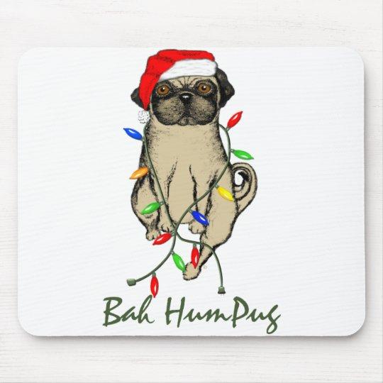Bah HumPug Mouse Pad