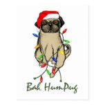 Bah HumPug Post Cards