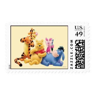 Bah y amigos 10 sello postal
