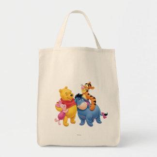 Bah y amigos 1 bolsa tela para la compra