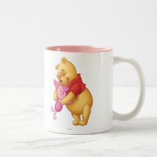Bah y amigos 2 taza de café de dos colores