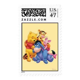 Bah y amigos 5 sello postal
