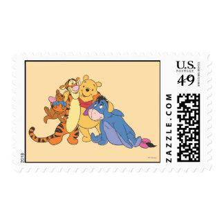 Bah y amigos 7 timbre postal