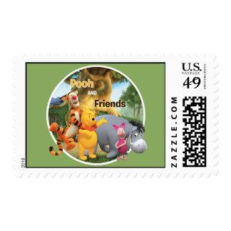 Bah y amigos 9 timbres postales