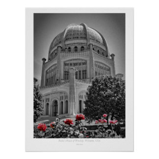Baha'i House of Worship Poster