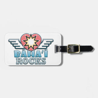 Baha'i Rocks Bag Tag