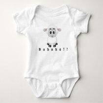 Bahaha Sheep Baby Bodysuit
