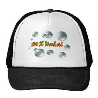 Bahai Bubbles Mesh Hats