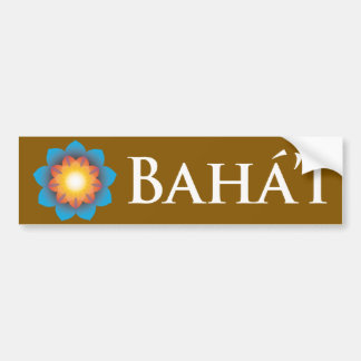 Bahá'í Car Bumper Sticker