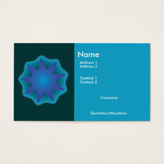 Baha'i bussiness card