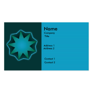 Baha'i bussiness card Double-Sided standard business cards (Pack of 100)