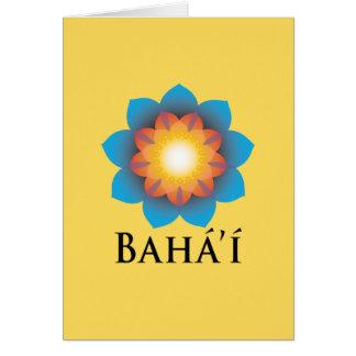 Bahá'í Card