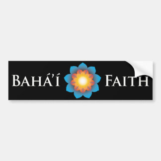 Bahá'í Faith Car Bumper Sticker