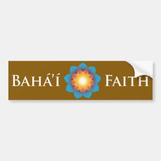 Bahá'í Faith Bumper Sticker