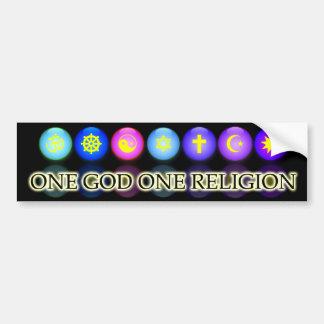 Baha'i Faith Bumpersticker Bumper Sticker