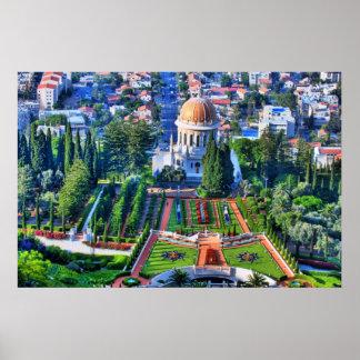 Baha'i Garden Print