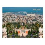 Bahá'í Gardens of Haifa, Israel Post Card