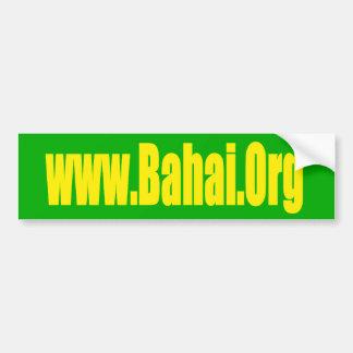 Bahai org Bumper Sticker