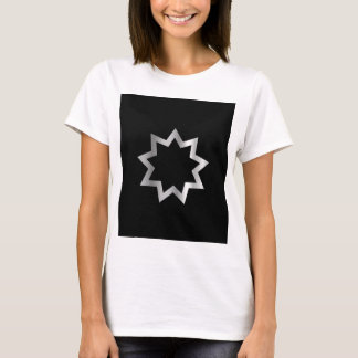 Bahai religion Symbol Nine pointed star T-Shirt