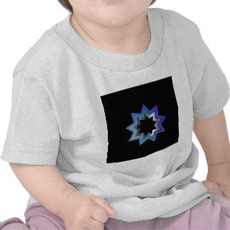 Bahai Religion Symbol- Nine pointed star Shirts