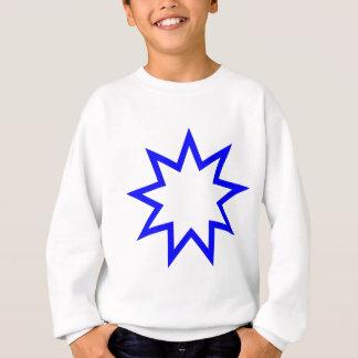 Bahai star blue