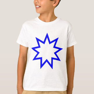 Bahai star blue T-Shirt