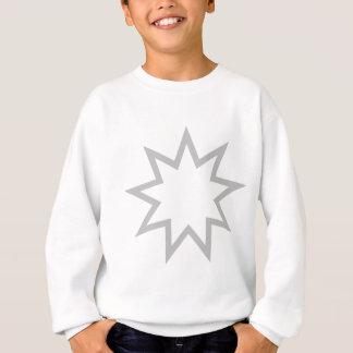 Bahai star grey