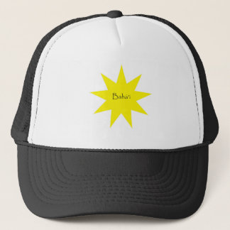 Baha'i star trucker hat