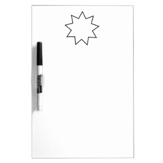 Bahai  Symbol Dry Erase Whiteboards