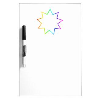 Bahai Symbol Dry-Erase Whiteboards