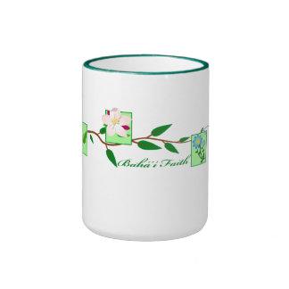 Baha'i Vine Ringer Coffee Mug
