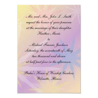 Baha'i Wedding Invitation