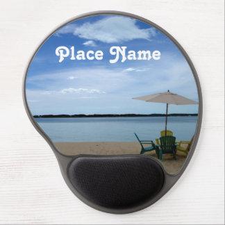 Bahama Beach Gel Mouse Pad
