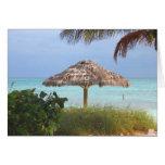 Bahama Beach Paradise Note Card