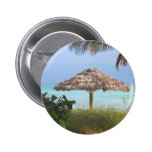 Bahama Beach Paradise Pinback Button
