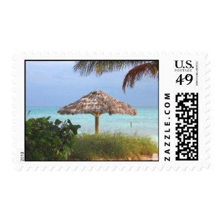 Bahama Beach Paradise Postage