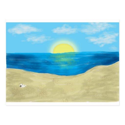 Bahama Beautiful - Original Artwork Postcard