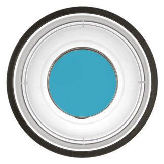 Bahama Blue-Ocean Blue-Water Blue Tropical Romance Pet Bowl