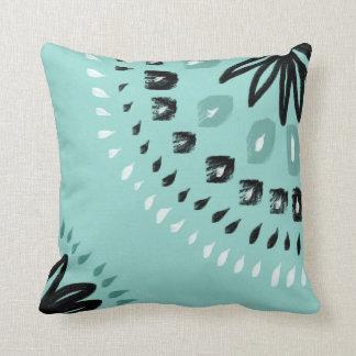 Bahama Blue Throw Pillow