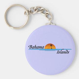 Bahama Islands Keychain