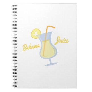 Bahama Juice Notebook
