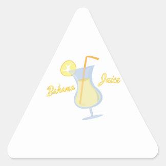 Bahama Juice Triangle Stickers