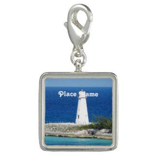 Bahama Lighthouse Photo Charms